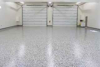 resin garage flooring